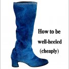 Kicky Mod 70s Make Your Own Boots Magazine Crafts Pattern DIY Accessories