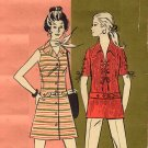 Mod 70s Mini Dresses or Shirts Else of California Multi Style Pattern Bust 32-40
