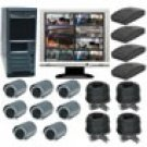 8 Channel Wireless Digital Video Recording System