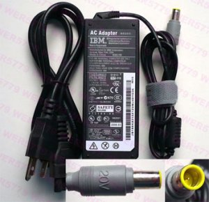 20V 3.25A 65W AC adapter for IBM ThinkPad Z61 Z61e T60 T60p
