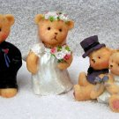 Wedding Bears by Kory's Collection, Teddy Bear Figurine