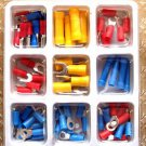 84 Piece Assorted Crimp on Electrical Terminals
