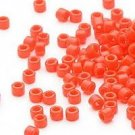 Miyuki #722 Opaque Orange Delica Round Seed Beads
