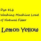 Lemon Yellow PRIMARY  Powder Dye for 8Lb natural fibers Wash Load