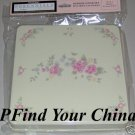 Pfaltzgraff Tea Rose Gas Burner Cover Set 4 NEW