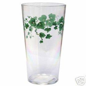 Corelle Callaway Coolers Acrylic Glasses Set 6 NEW