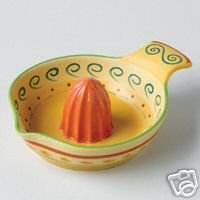 Pfaltzgraff Villa Della Luna Citrus Juicer NEW Pottery