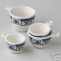 Pfaltzgraff Orleans Measuring Cup Set NEW Stoneware