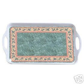 Pfaltzgraff French Quarter Serving Tray NEW Melamine