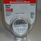 Kitchenaid White Digital Timer Battery Included NEW