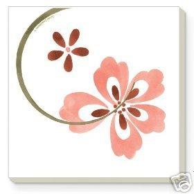 Corelle Pretty Pink Stoneware Coasters 4 NEW USA
