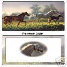 Horses New Hope Reversible Placemats Set of 6 NEW