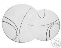 Corelle Simple Lines Burner Covers Set of 4 NEW