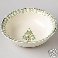 Pfaltzgraff Naturewood Holiday Serve Bowl NEW Tree
