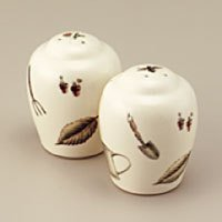 Pfaltzgraff Naturewood Salt & Pepper Shakers NEW