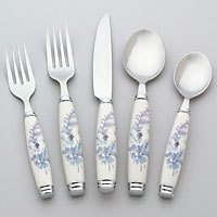Pfaltzgraff Winter Frost Flatware Set of 20 Brand NEW