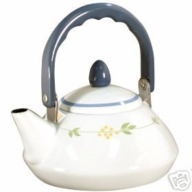Corelle Secret Garden Personal Tea Kettle NEW Pot