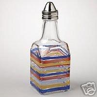 Pfaltzgraff Sedona Glass Oil Cruet Set of 2 NEW