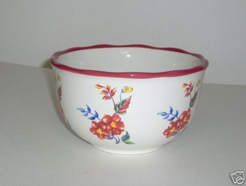 Pfaltzgraff Paradise Song Red Soup Cereal Bowl NEW