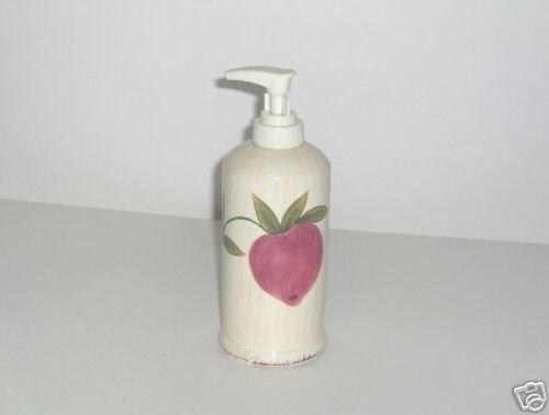 Pfaltzgraff Antique Garden Lotion Bottle NEW Dispenser
