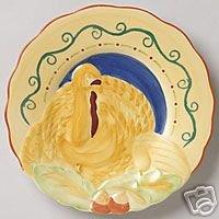 Pfaltzgraff Villa Della Luna Turkey Buffet Plates NEW