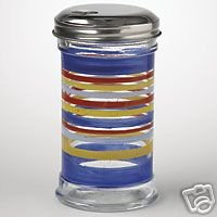 Pfaltzgraff Sedona Sugar Pourer Glass WOW NEW!!