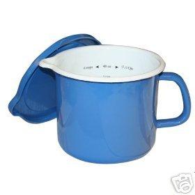 Calypso Azure Blue 4 in 1 Stockpot Measure Cook Oprah