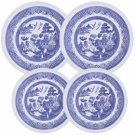 Oriental Blue Stovetop Burner Cover Set of 4 NEW