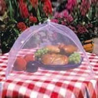 Food Umbrellas Covers Set of 2 NEW Picnics White