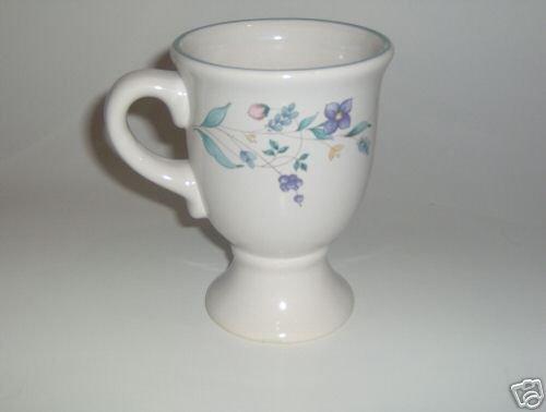 Pfaltzgraff April Pedestal Coffee Mug NEW Last in Stock