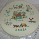 Heartland Farmland Stovetop Burner Cover Set of 4 NEW