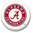 University of Alabama Car Coasters Set of 2 NEW Stone
