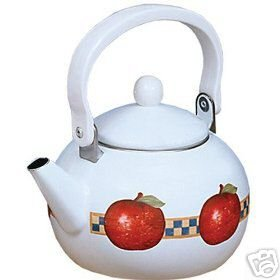 Ingleman Gear Country Orchard Teakettle 2 Qt NEW