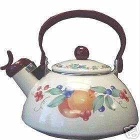 Corelle Abundance Whistling Teakettle 2.2 Qt New