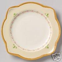 Pfaltzgraff Villa Della Luna Salad Plates 4 NEW Scallop