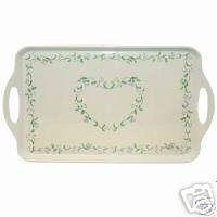 Corelle Country Cottage Serving Tray NEW Melamine Rect.