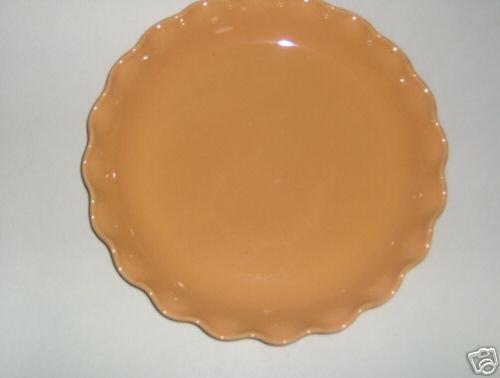 Pfaltzgraff Orange Ruffled Round Serve Platter NEW USA