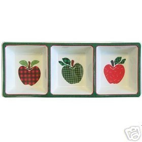 Ingleman Applejack 3 Section Tray Divided NEW