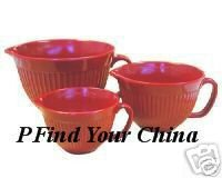 Measuring Cups Red Set of 3 NEW Stackable