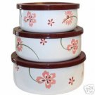 Corelle Pretty Pink 6 Piece Bowl Set NEW in Box