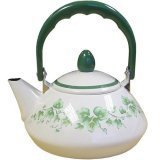 Corelle Callaway Teakettle 1.2 Quart Enamel Steel NEW