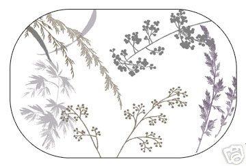 Corelle Shadow Grasses Placemats 6 NEW Deco
