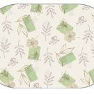 Corelle Textured Leaves Reversible Placemats 6 NEW Deco