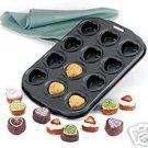 Norpro Nonstick Petite Heart Pan NEW Makes 12 Mini