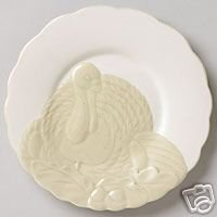Pfaltzgraff Cappuccino Turkey Buffet Plates NEW