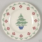 "Pfaltzgraff Nordic Christmas Salad Plate 8"" NEW Pottery"