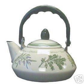 Corelle Thymeless Herbs Personal Teakettle NEW Pot