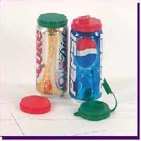 Soda Can Covers 6 w/Drink Spout Beer No More BEES