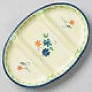 Pfaltzgraff Verona Divided Serving Platter NEW Stonewar