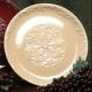 "Drake Design Wheat Round Serving Platter 14"" Ceramic NU"